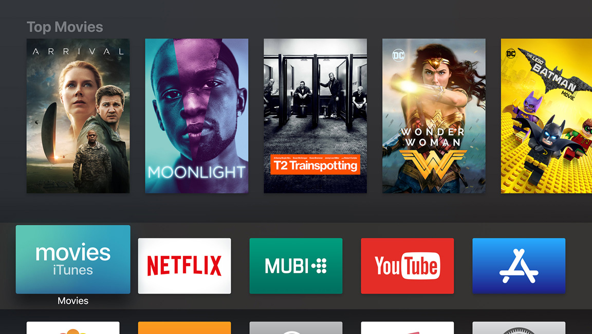 Apple TV - Top Movies
